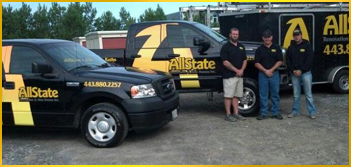 Allstate Renovation Trucks - Home Additions